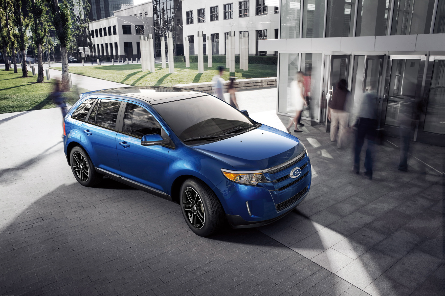 Manufacturer photo: 2013 Ford Edge