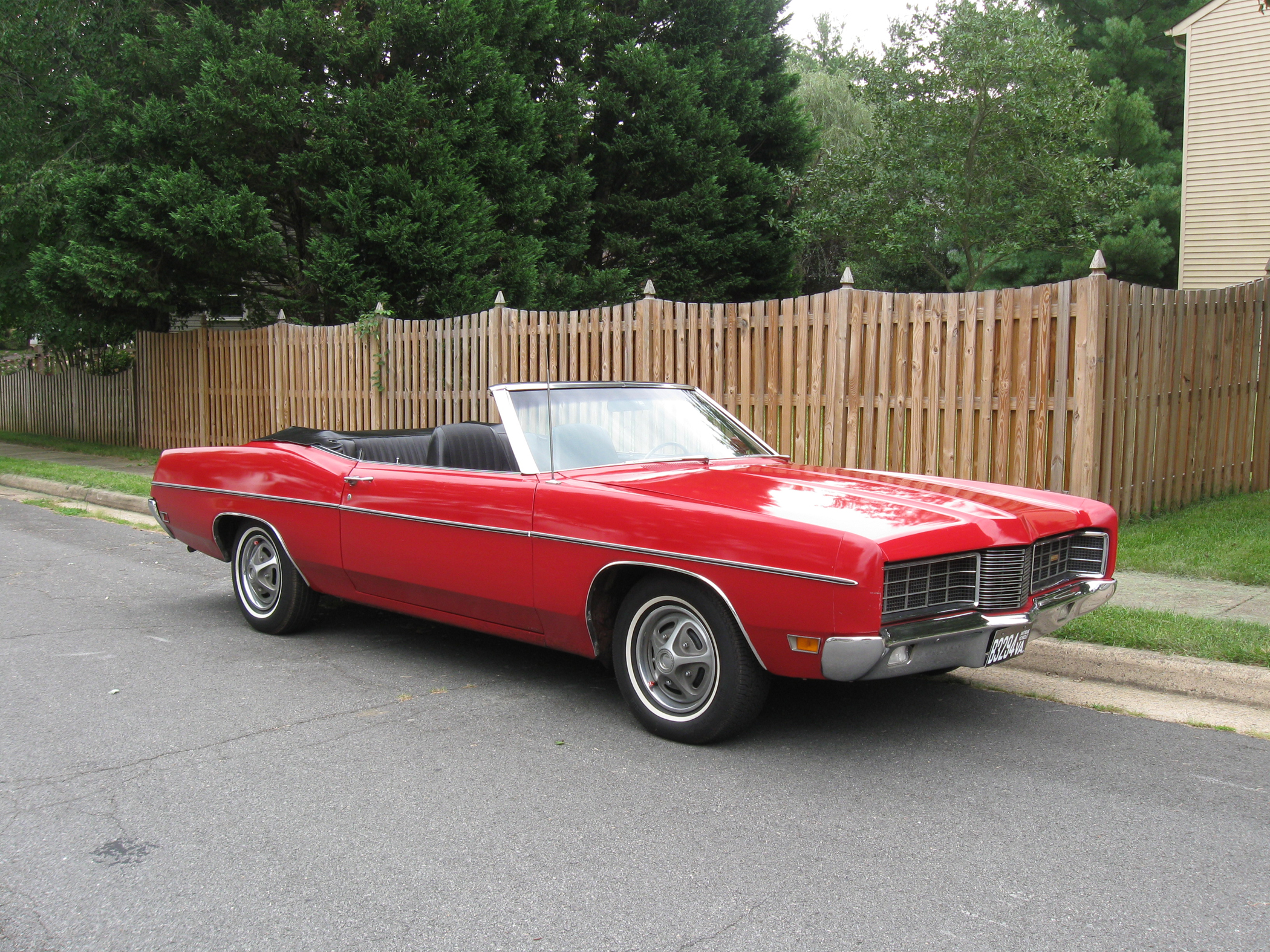 1970 ford galaxie xl convertible has 400 hp v 8 classic classics