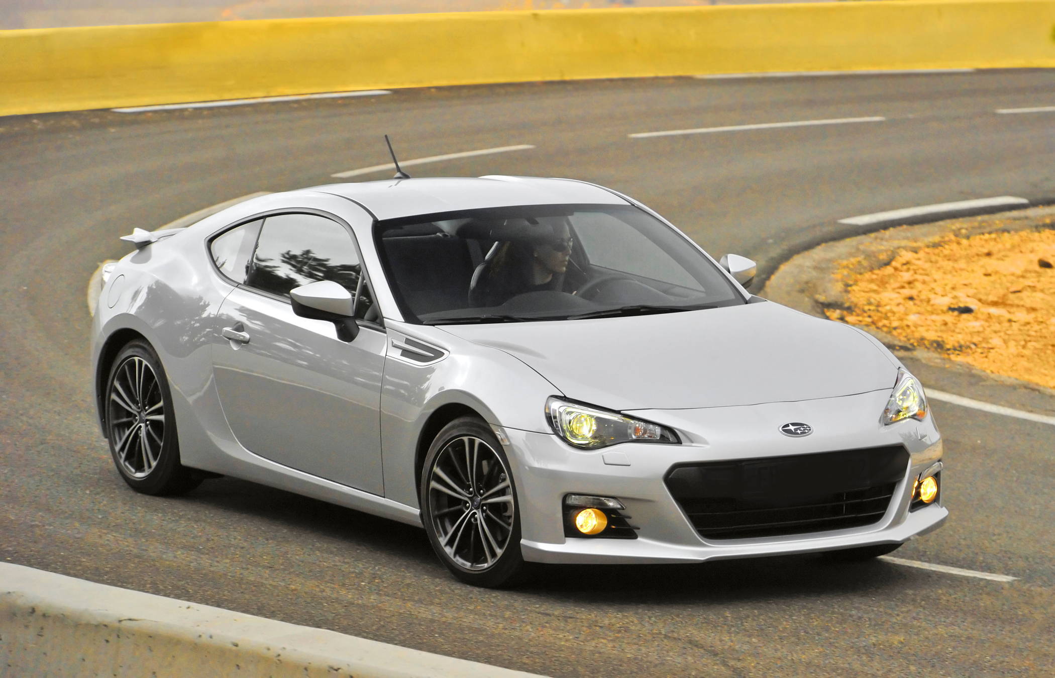 Manufacturer photo: Subaru developed the rear-wheel drive BRZ with the fundamentals of sports car design in mind: low vehicle weight, an ultra-low center of gravity and precision steering