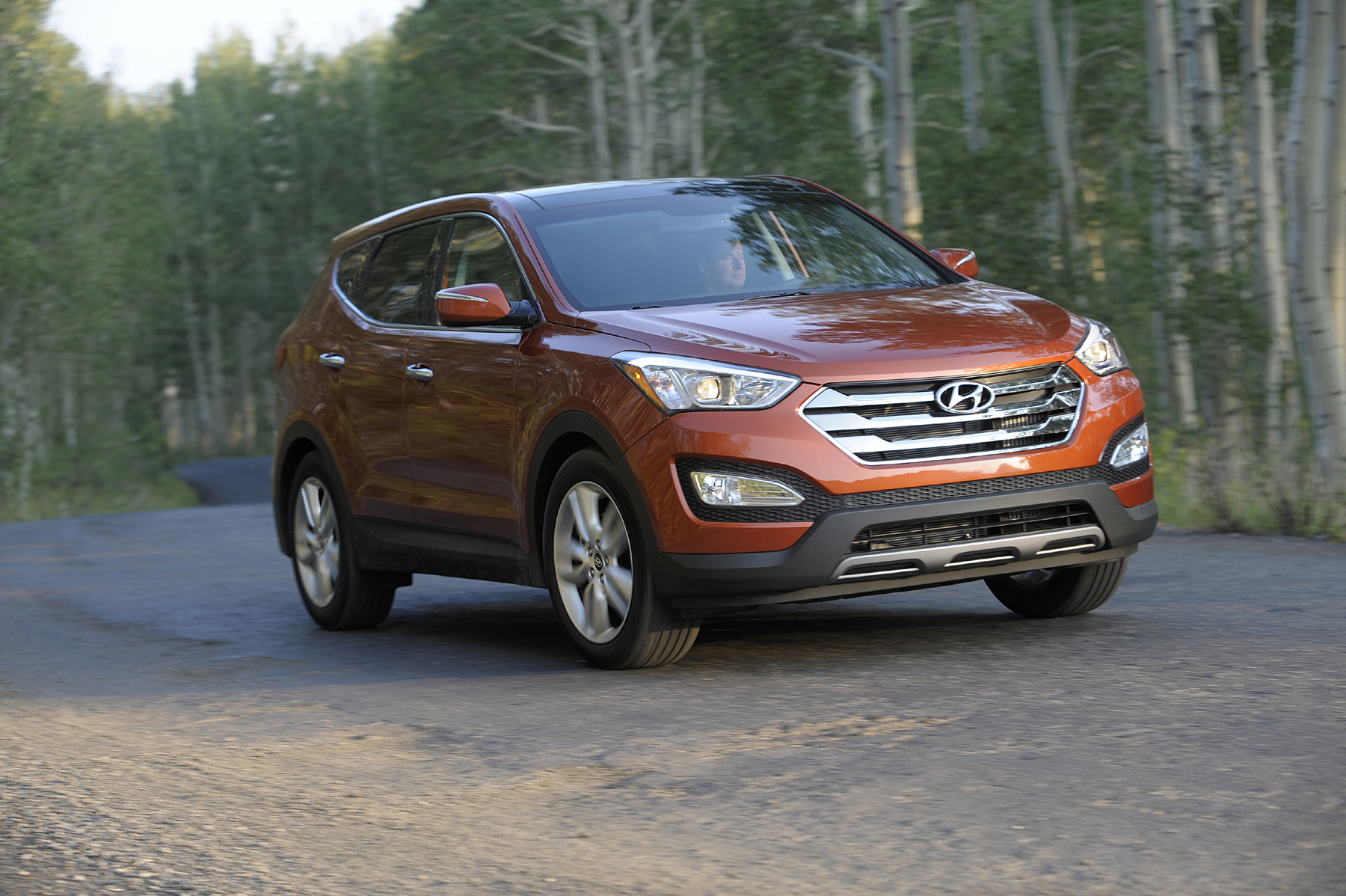 Manufacturer photo: The all-new third-generation Santa Fe launches in a five-passenger model and a longer wheelbase three-row, seven-passenger model