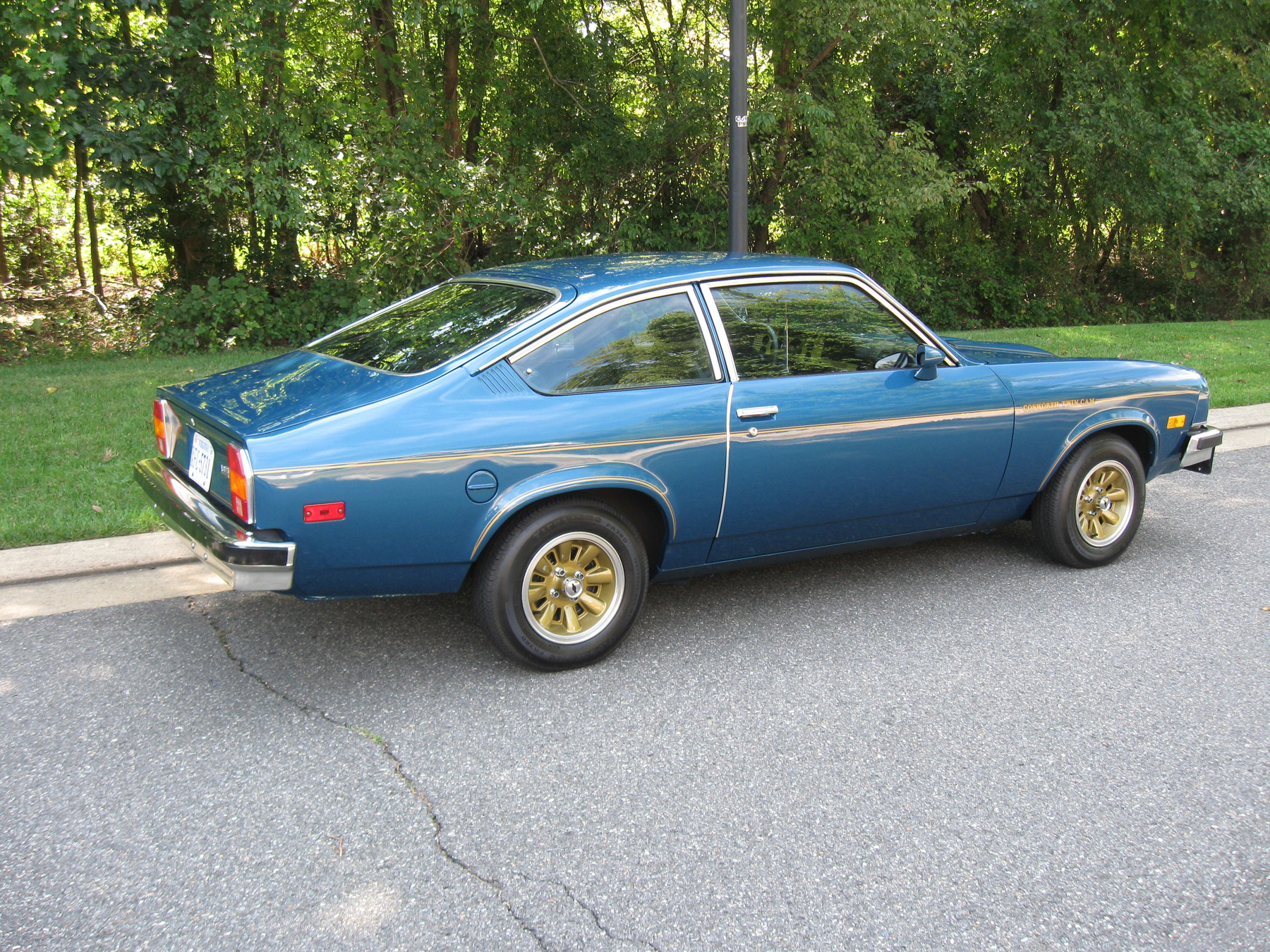1976 Chevy Cosworth Vega is Rare and Well Restored - Classic ...