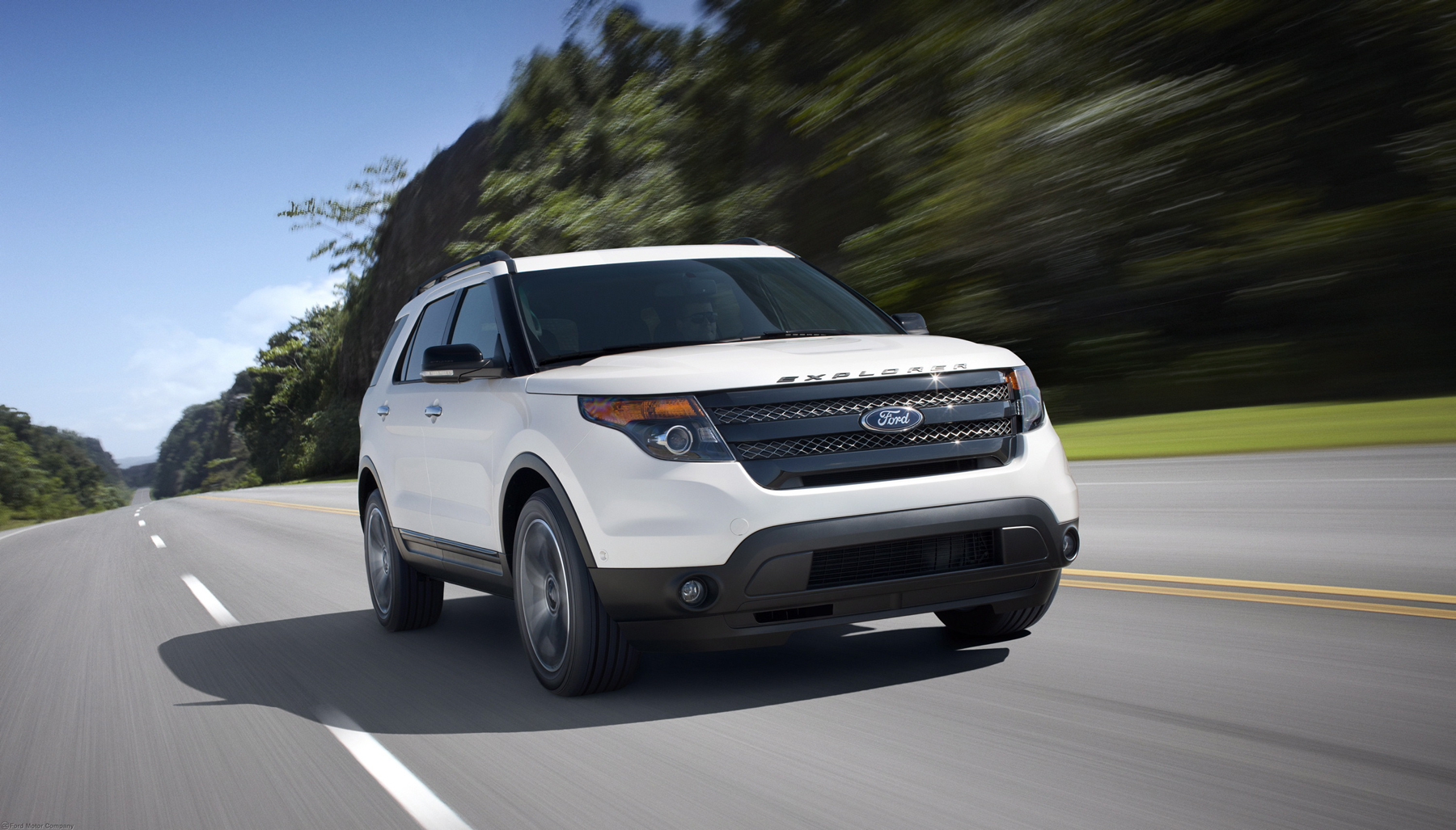 Manufacturer photo: New for 2013, the Ford Explorer Sport combines high performance with fuel efficiency, thanks to EcoBoost technology