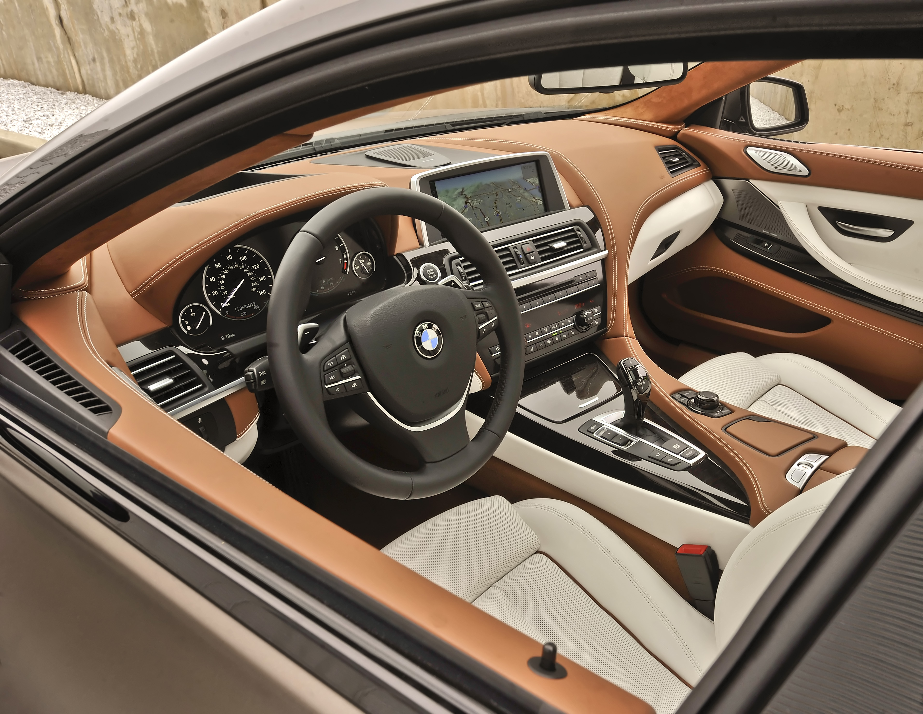 Manufacturer photo: BMW introduces the 2013 BMW 6 Series Gran Coupe -- a new 4-door, 4+1-seater added to the 6 Series line