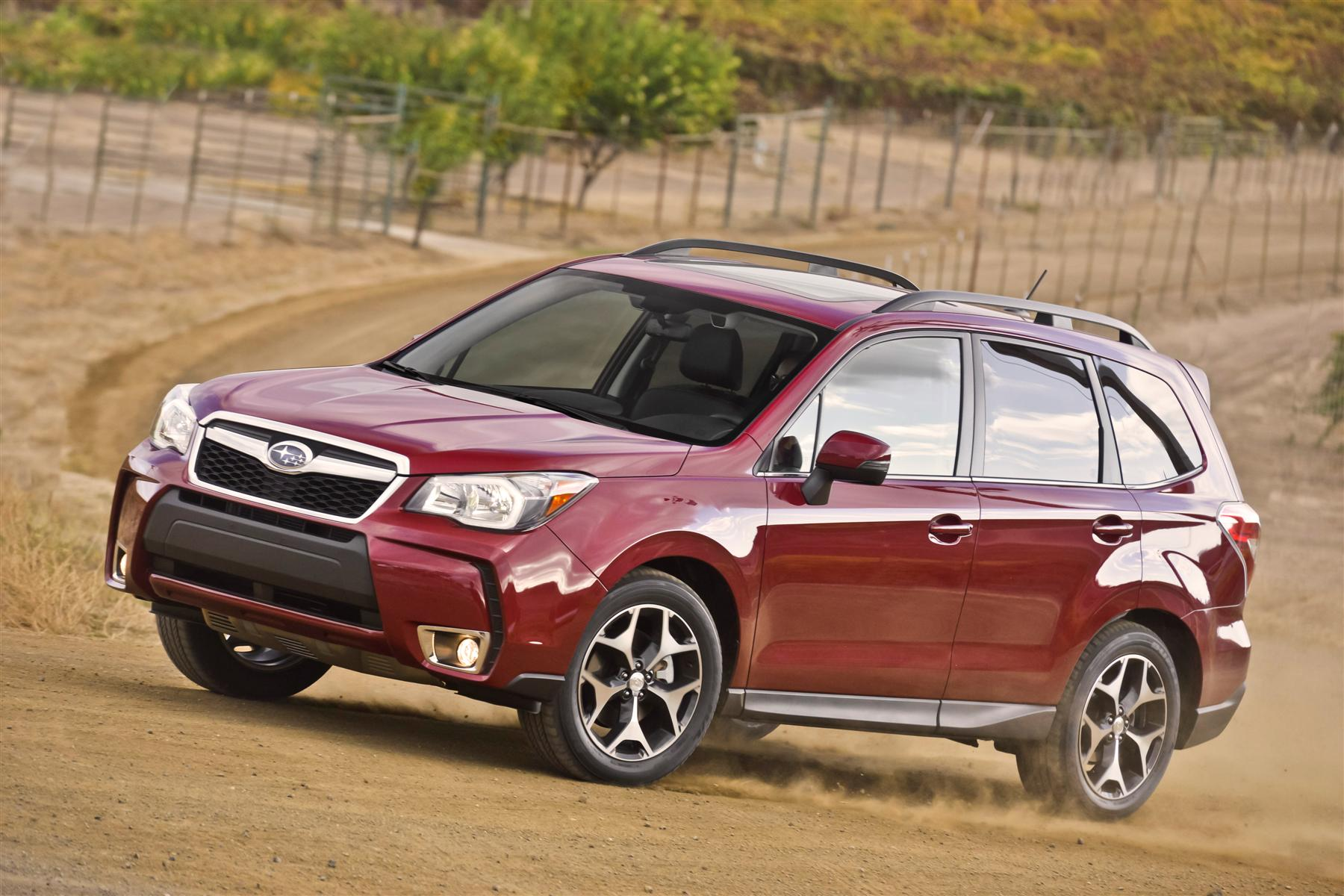 2014 subaru forester gets new turbo engine new on wheels groovecar. Black Bedroom Furniture Sets. Home Design Ideas