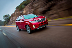 2014 Kia Sorento Facelifted for Design Value