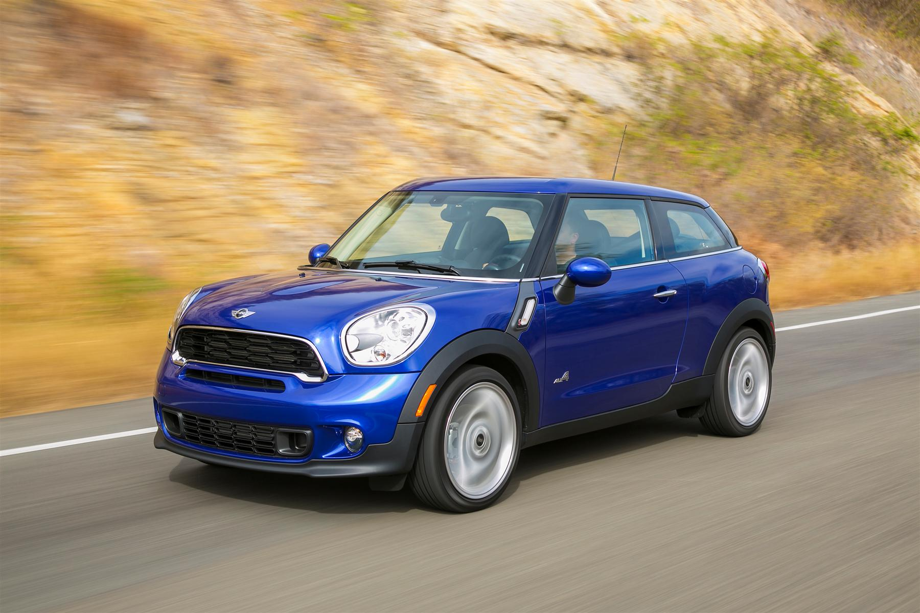 Manufacturer photo: With its two doors and large tailgate, the 2013 MINI Paceman brings an air of sporting elegance and individualism to the premium compact segment