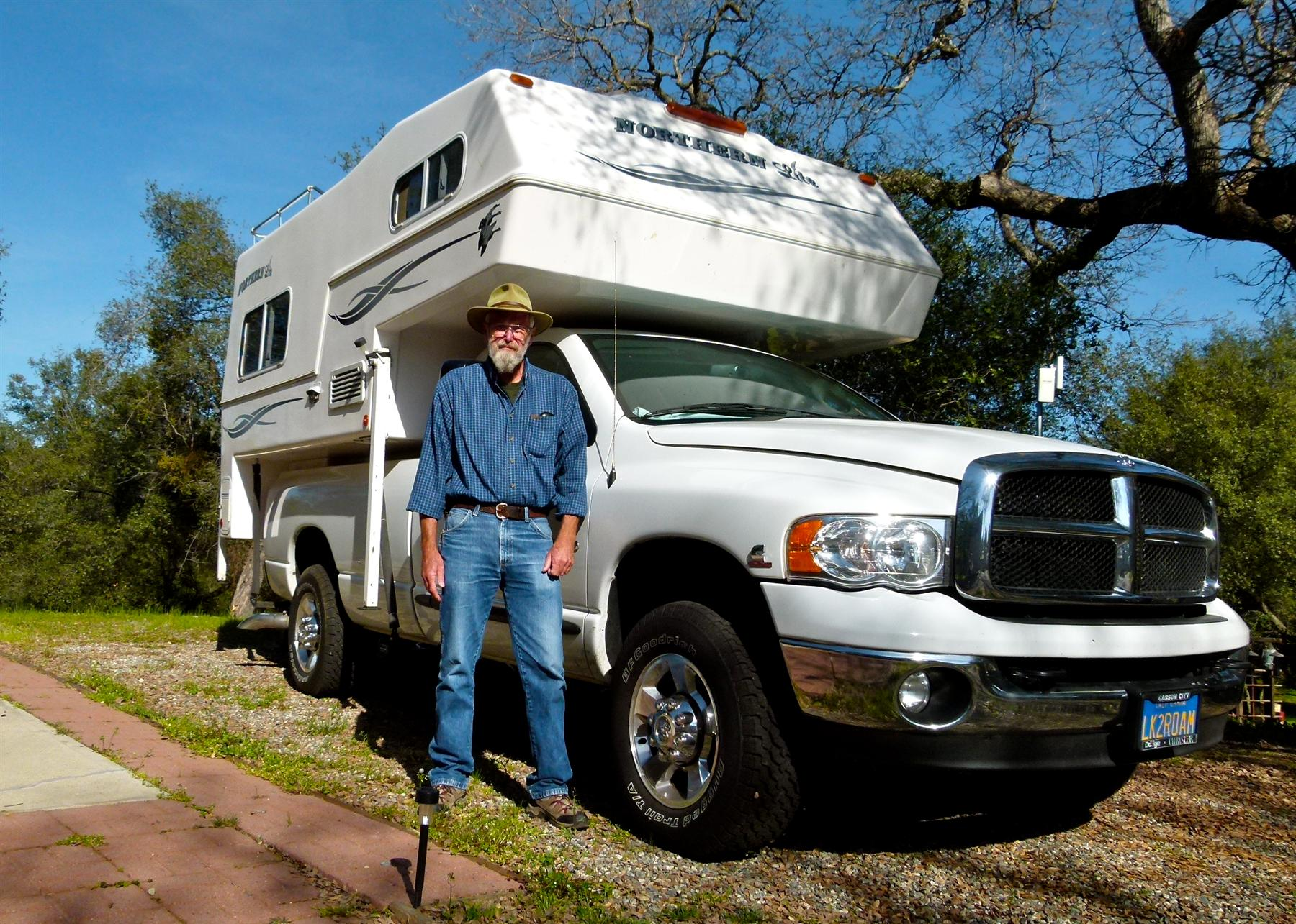 truck campers getting more in rv travels rolling homes. Black Bedroom Furniture Sets. Home Design Ideas