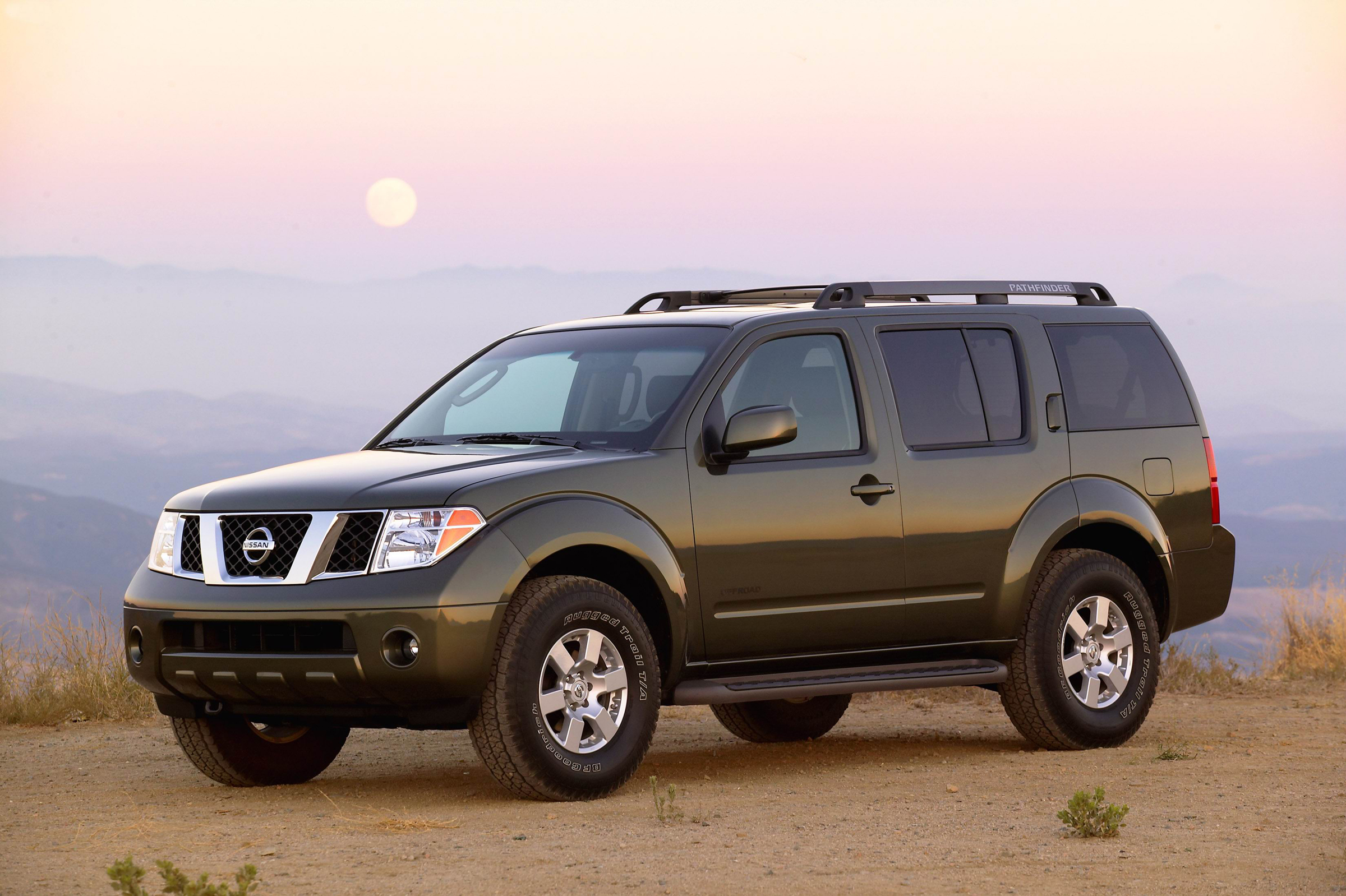 Manufacturer photo: Nissan Pathfinder_3rd generation