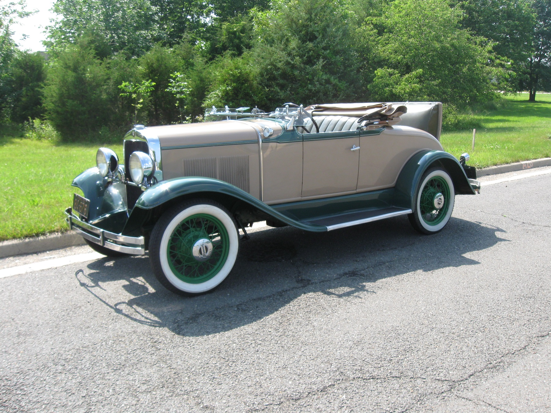 the new plymouth was a sales success and by 1930, despite the great  depression, plymouth sales were soaring  a 2,280-pound two-door sport  roadster,