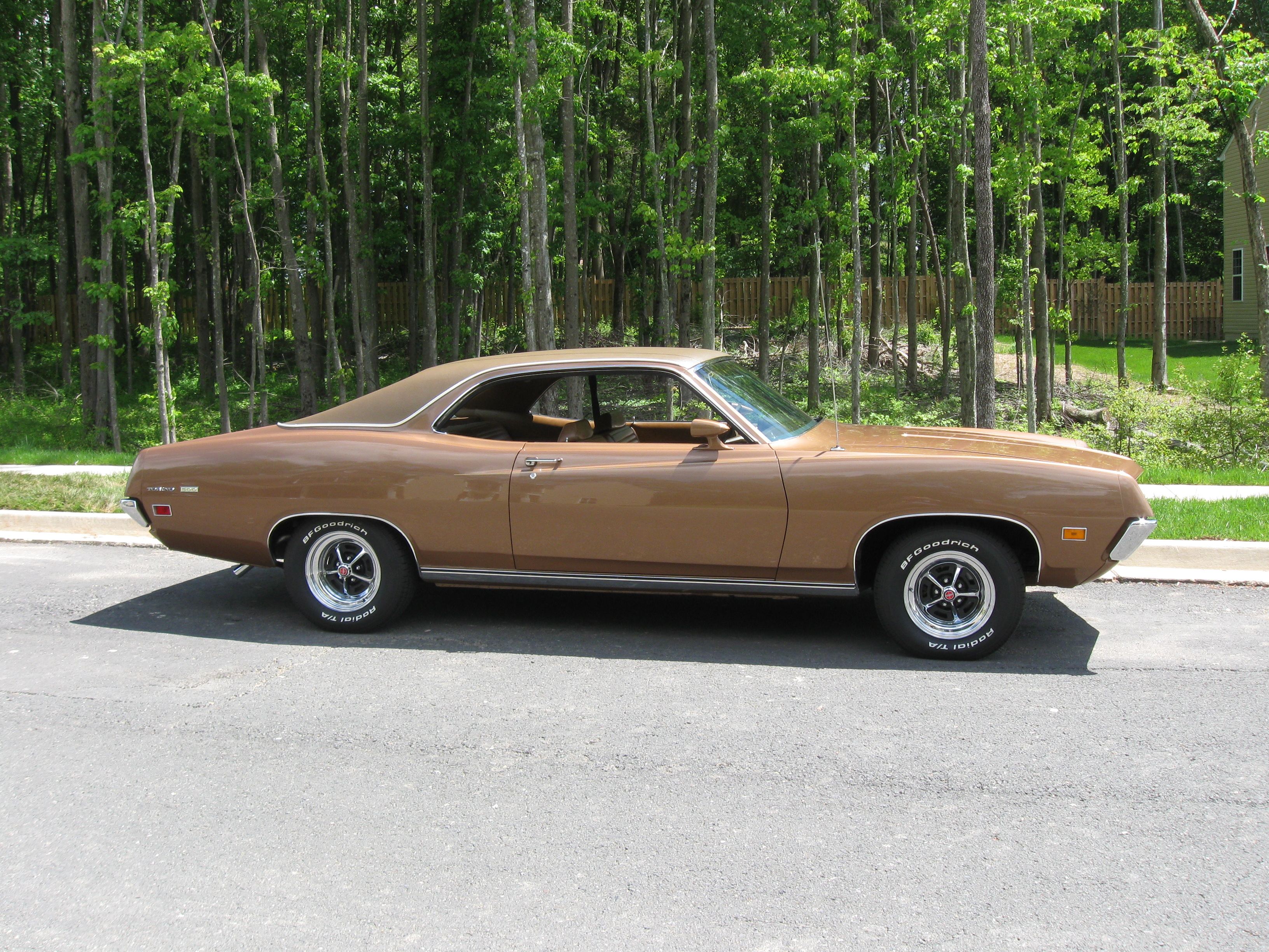 Ford Torino Painted Popular Ginger Classic Classics - Nearest ford dealership