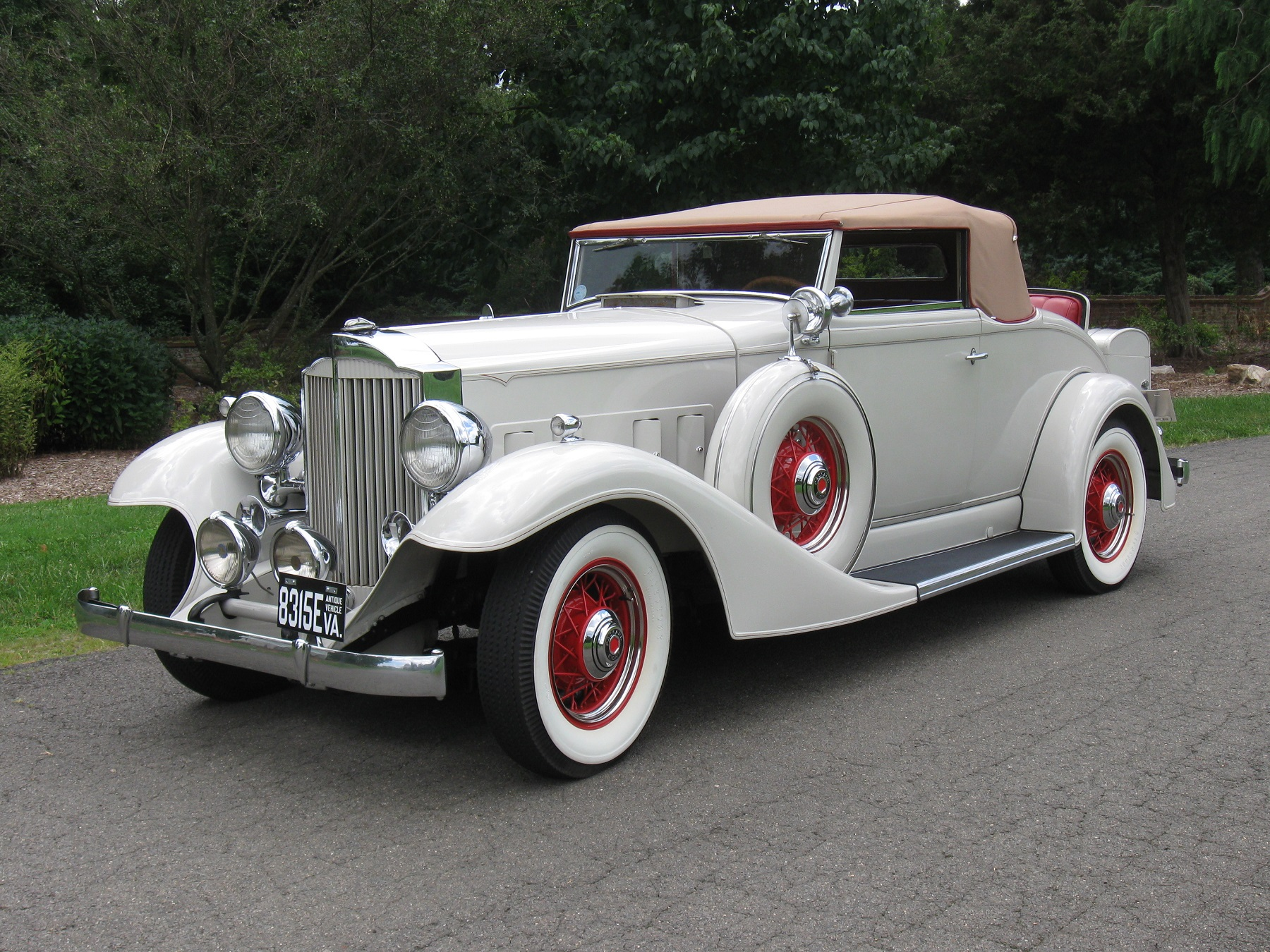 1933 Packard Survived Garage Fire Classic Classics