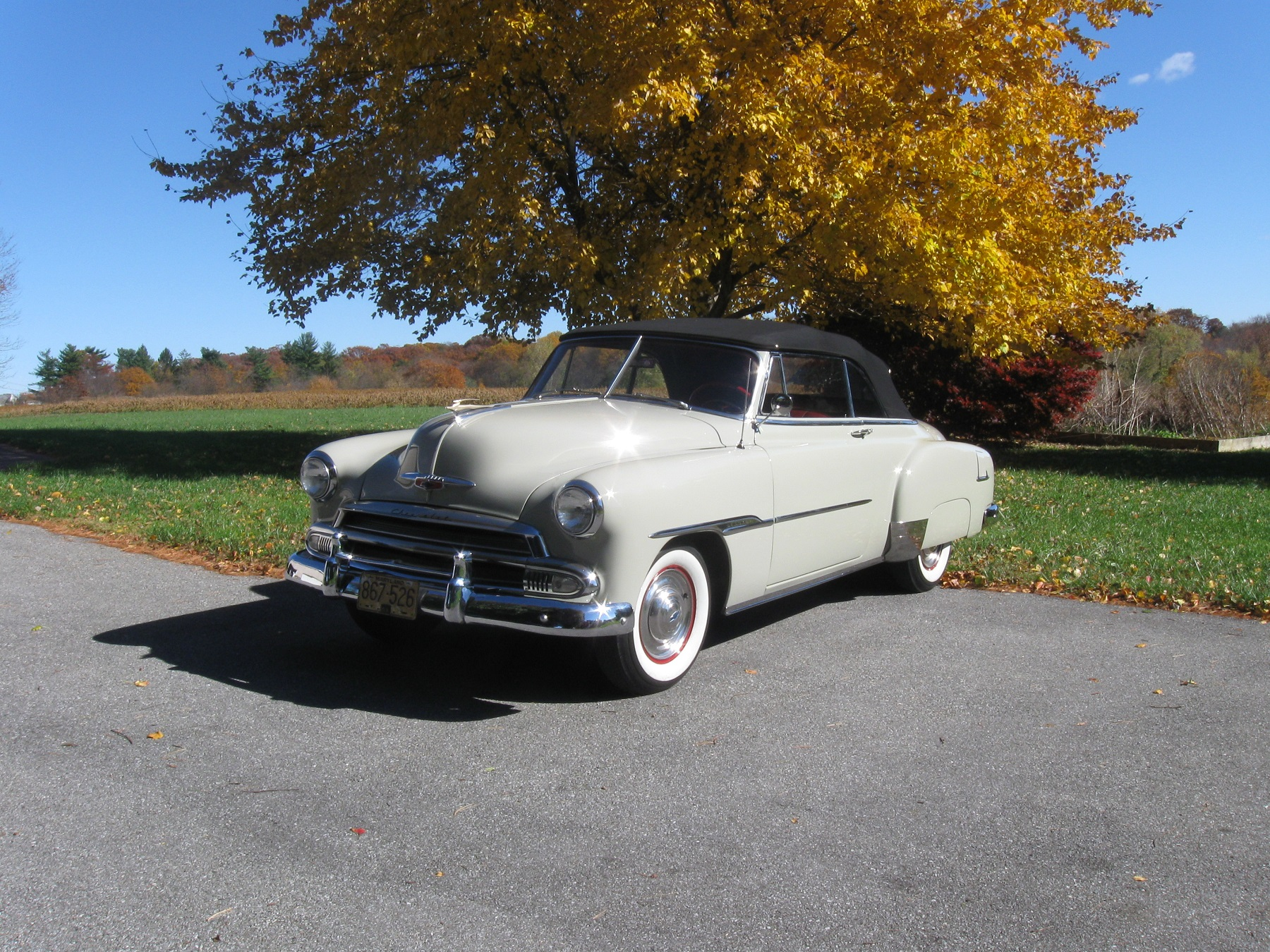 All In The Family 1951 Chevrolet Classic Classics Groovecar Styleline Deluxe Service Station Owner Had Just Purchased Convertible At A Dealership Baltimore He Paid 225815 For Car Minus 1208 That