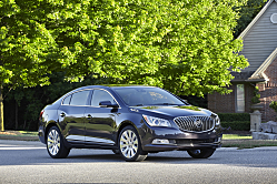 2014 Buick LaCrosse: Updates to Luxury
