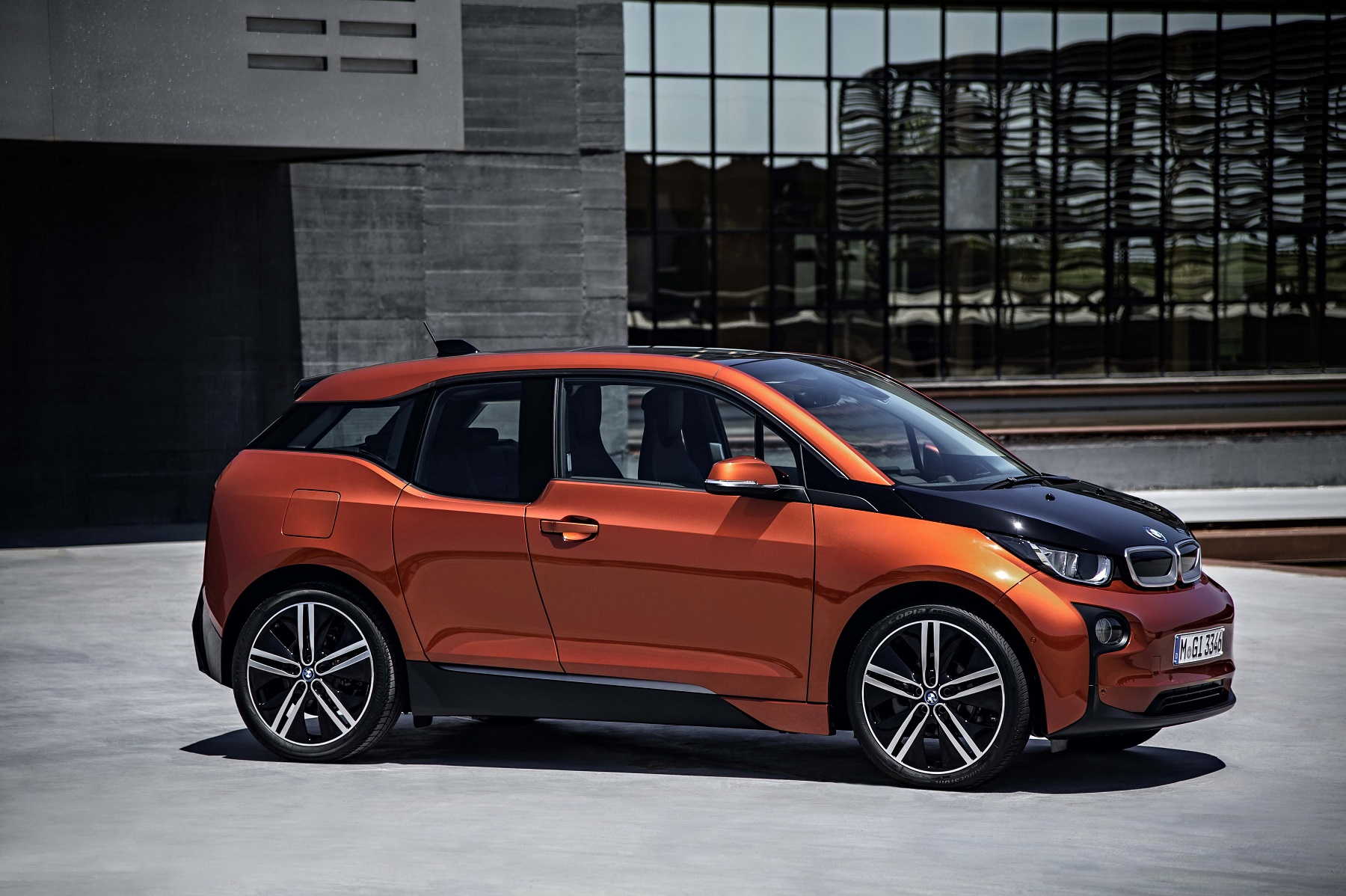 "Manufacturer photo: The i3 is the first product of the BMW's new ""i"" sub-brand, and is a new era for electro-mobility at BMW"