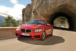 Four-Seater Thrill Ride: BMW 2 Series Coupe