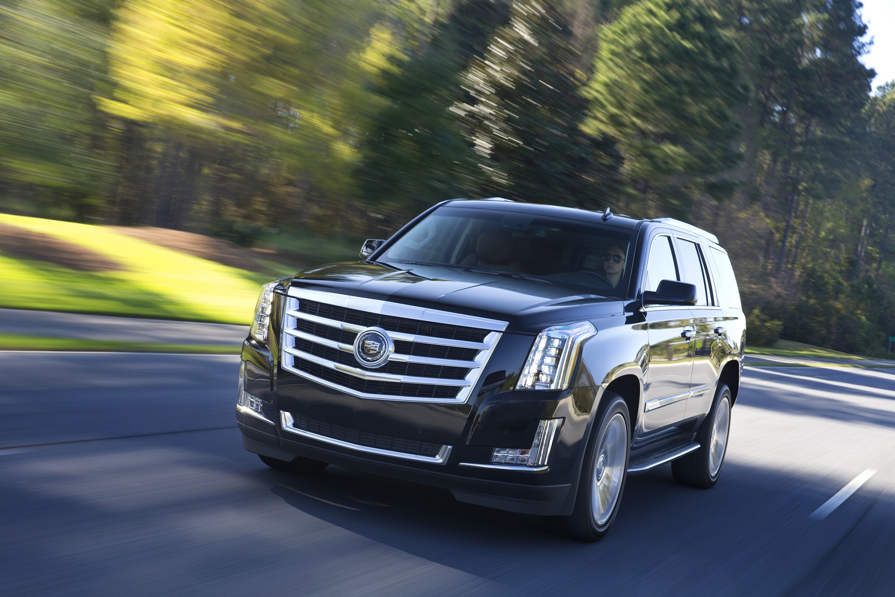 Manufacturer photo: The fourth-generation Escalade is an entirely new design yet instantly recognizable