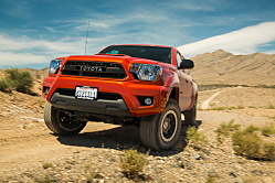 Toyota Tacoma: Small Pickup, Aggressive Moves