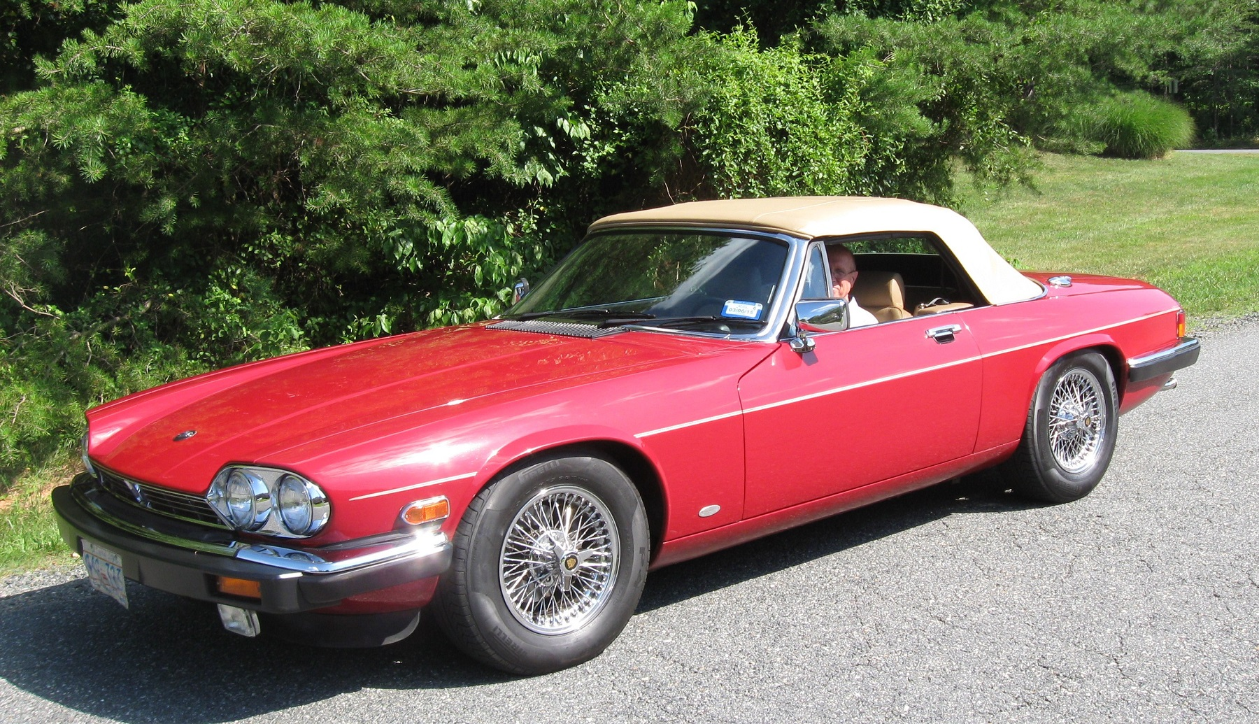 Low-Mileage Trade-in: 1988 Jaguar XJS - Classic Classics - - GrooveCar