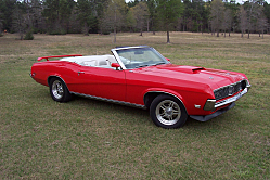 1969 Mercury Cougar is a Weekend Driver