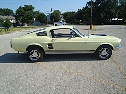 Dream Car: 1967 Ford Mustang Fastback