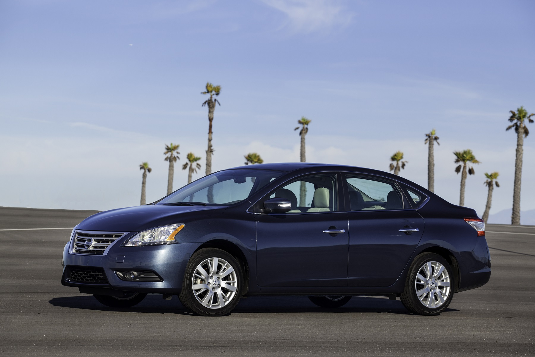 Manufacturer photo: The Sentra continues to offer class-above design standards inside and out, as well as efficiency in engineering