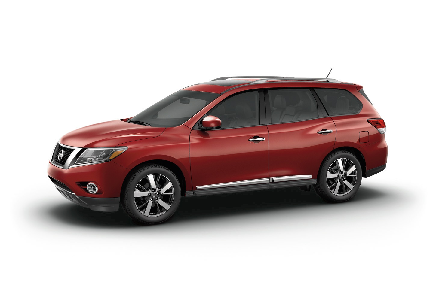 Manufacturer photo: The 2015 Pathfinder offers exceptional levels of versatility, fuel efficiency and full-size comfort for seven passengers