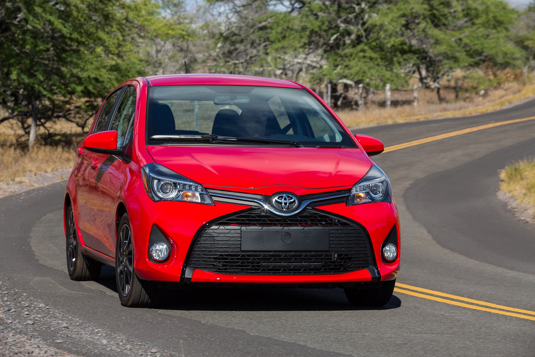 Manufacturer photo: The new Yaris combines an energetic shape with a more comfortable cabin