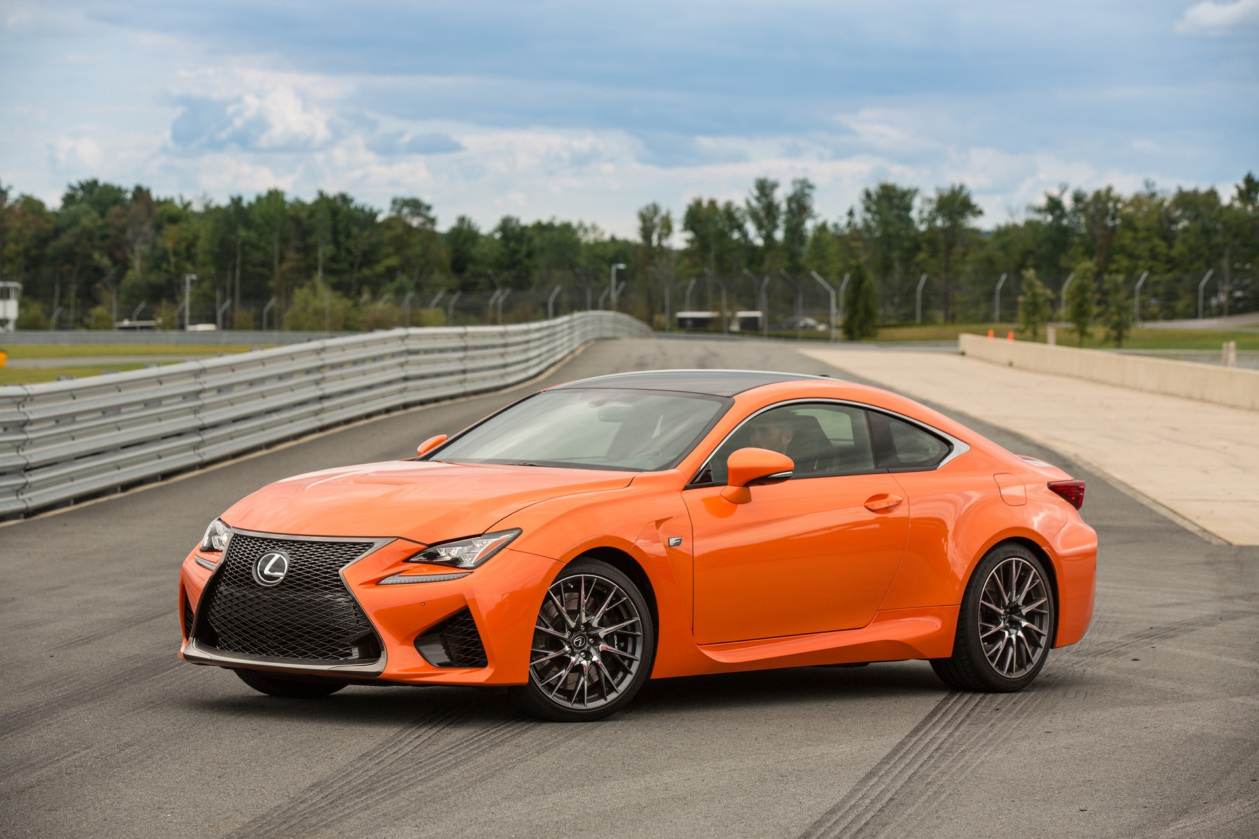 Manufacturer photo: The luxury-sport coupe category gets a lot hotter with the 2015 Lexus RC 350, melding audacious design and high performance like no Lexus before