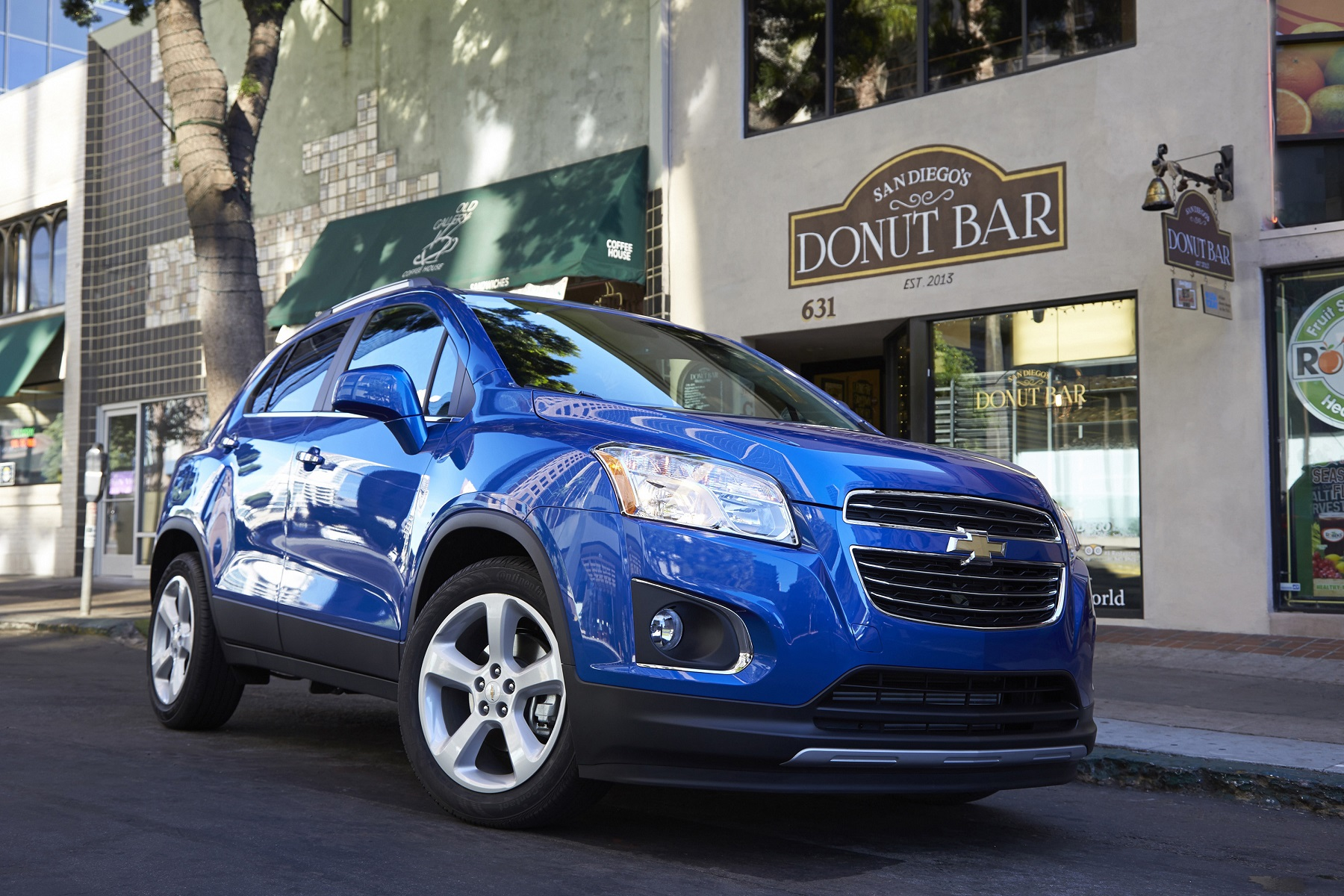 Manufacturer photo: The 2015 Trax is Chevrolet's seventh small vehicle launch in four years, a diverse lineup that's seen the brand's share of the small-, compact- and mini-car segments more than triple.