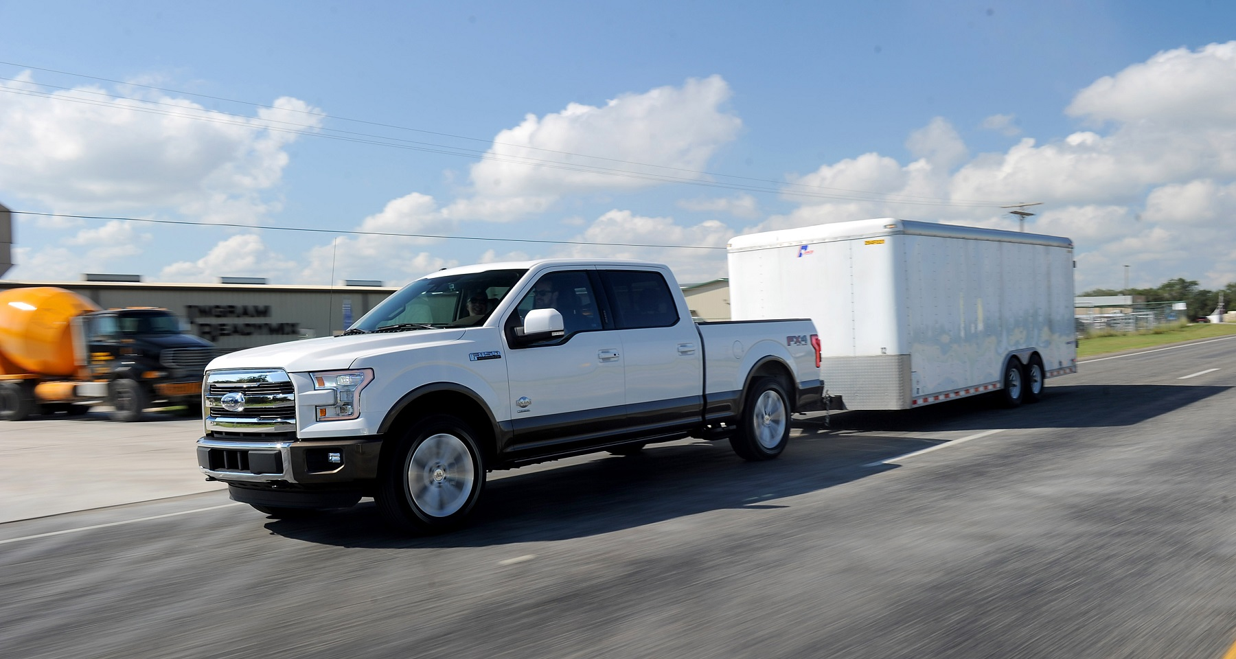 2015 Ford F-150: Lose Weight, Gain Power - New on Wheels - - GrooveCar