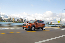 Chevy Trax: On-Track, City Smart