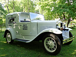 1931 Model A Ford: Ice Cream for Everyone