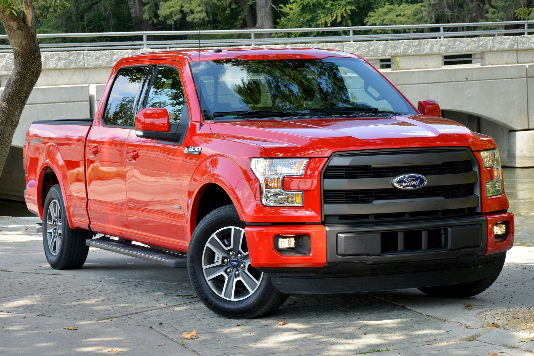 Manufacturer photo the all new 2015 ford f 150 is the toughest