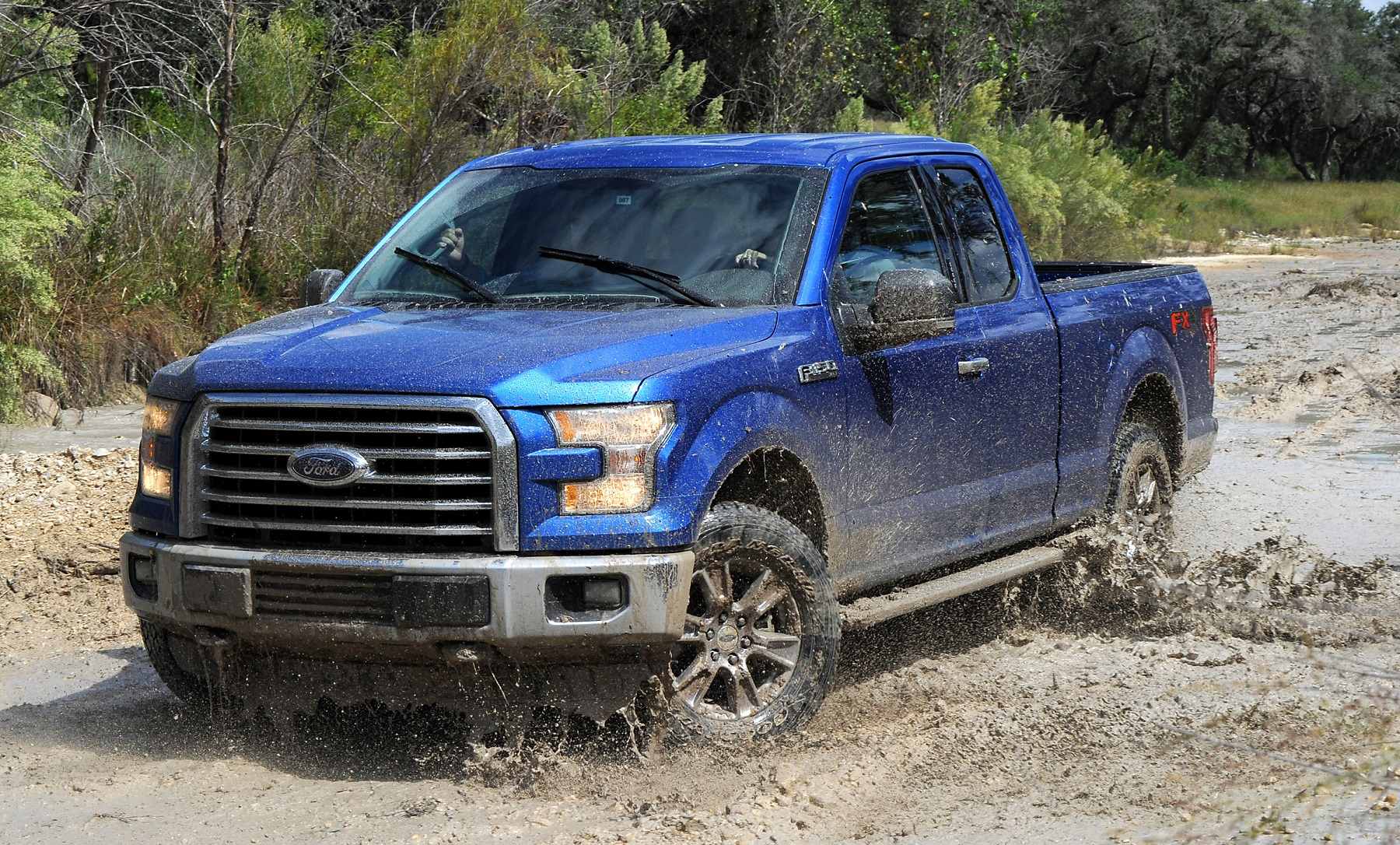 Manufacturer photo: The all-new 2015 Ford F-150 is the toughest, smartest and most capable F-150 ever -- setting the standard for the future of trucks