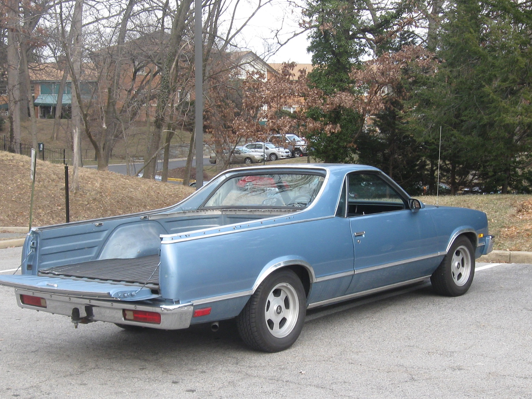 The el camino was a handsome car styled vehicle with a pickup truck type bed and tailgate the attractive el camino was introduced in 1959 and proved to be