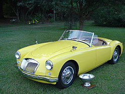1958 MGA Purchased in Boxes of Parts
