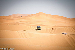 Sprinting the Sahara Desert: Mercedes Sprinter
