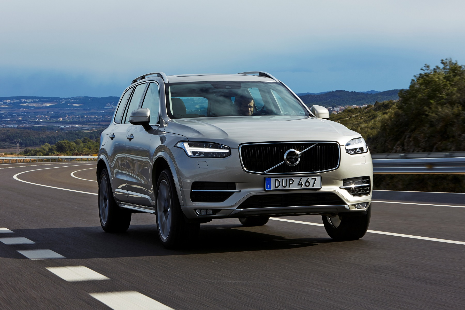 Manufacturer photo: Volvo's four cylinders use both a supercharger and a turbocharger, with direct fuel injection
