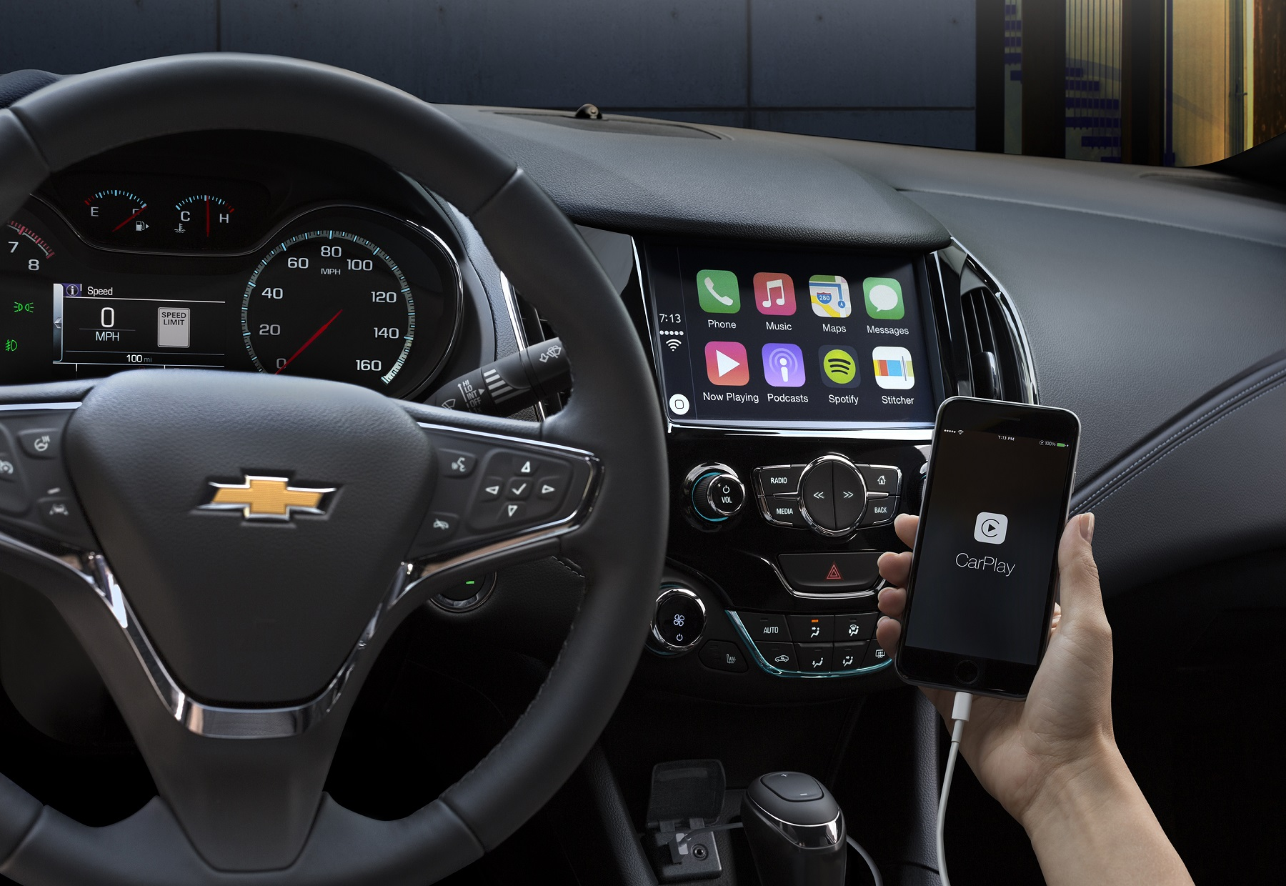 Chevrolet: Apple CarPlay, Android Auto for Everyone - Down the Road