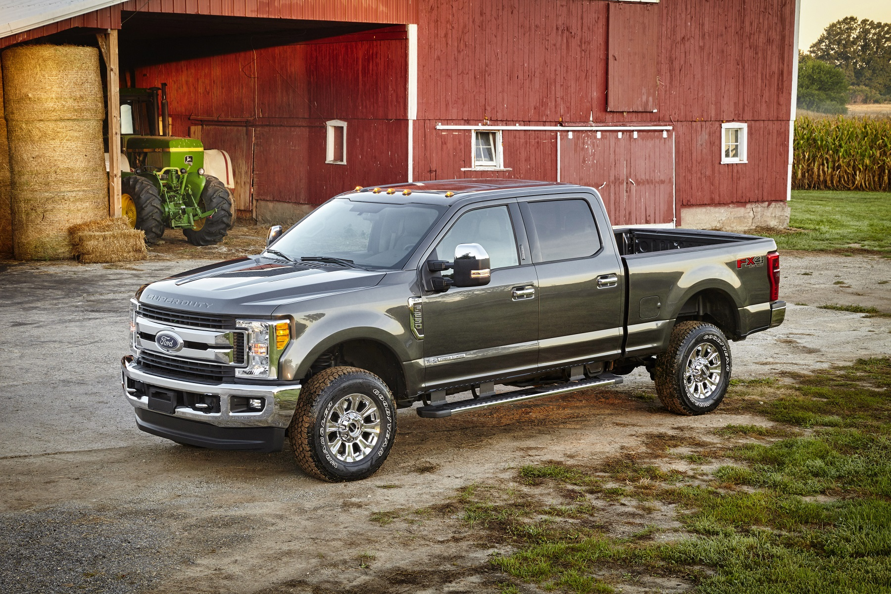 Manufacturer photo: The all-new 2017 Ford F-Series Super Duty trucks are lighter yet feature an all-new, fully-boxed frame comprising more than 95 percent high-strength steel