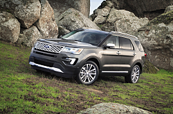 2016 Ford Explorer Platinum: Explore Luxury