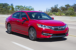 Honda Accord: Face-lifted for 2016