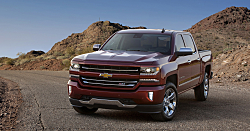2016 Chevy Silverado: Pickup with Updates