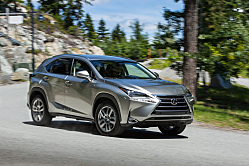 Lexus NX 200t: In the Red Hot Compact Luxe Utility Class