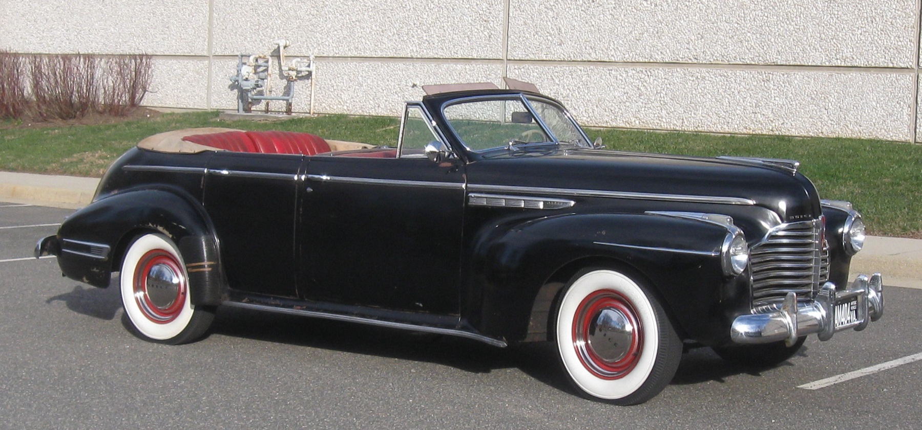A Convertible to Restore: 1941 Buick Super Phaeton - Classic ...