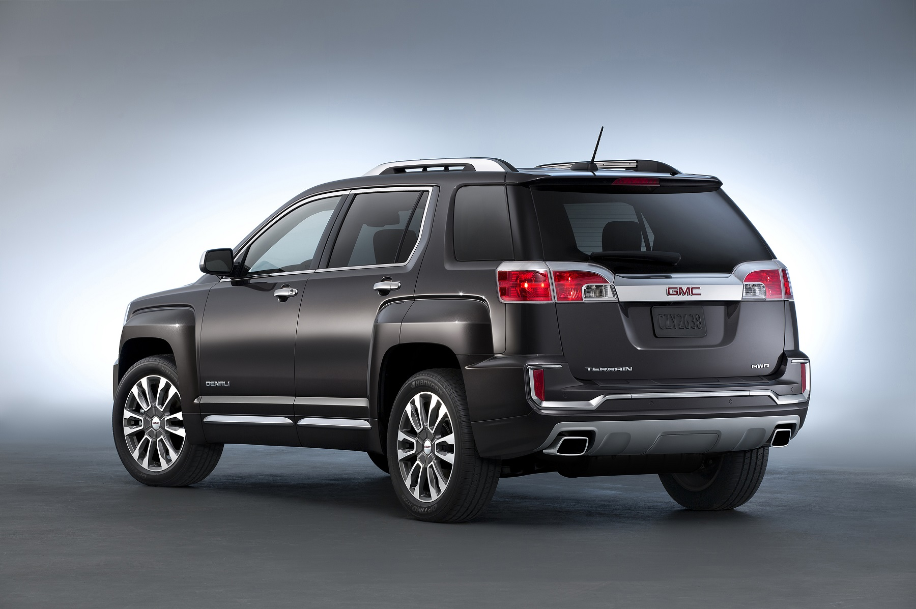 Manufacturer photo: The 2016 Terrain is offered in front-wheel-drive and all-wheel-drive models, in SL, SLE and SLT trim levels, as well as the Denali