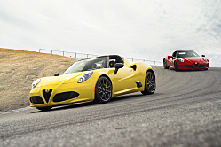 2016 Alfa Romeo 4C Spider: Style for Car Nuts