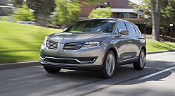 Lincoln MKX: Crossover is All-New for 2016