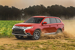 2016 Mitsubishi Outlander: Enhanced Outside and Within