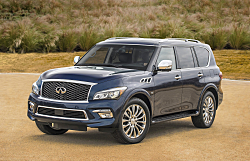 2016 Infiniti QX80: Luxury and Muscle